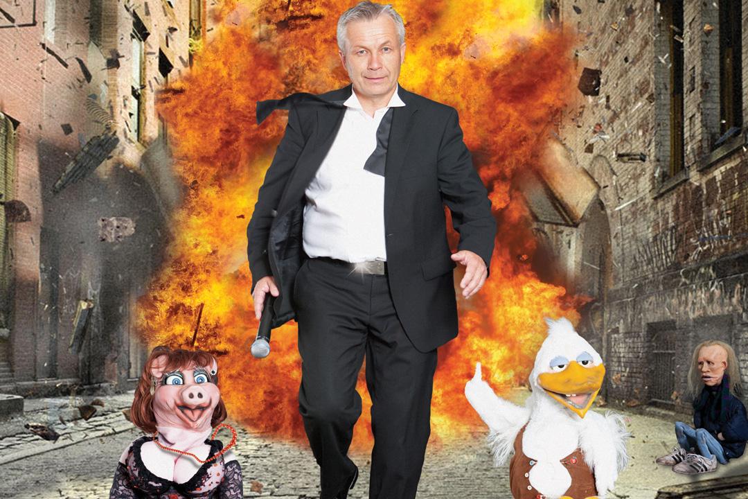 show med jan-robert henriksen eksplosjon plakat