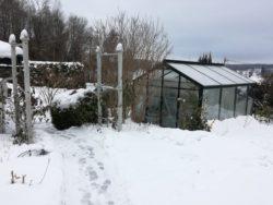 humortanken bak vinter og snø i norge